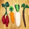 【簡単!手作りおもちゃ】子供が喜ぶフェルト野菜の作り方