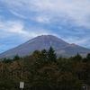 富士山スカイラインで行く秋の富士山五合目と眼下の雲海