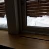 雪国のウッドデッキ事情
