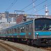 新登場の奈良線205系を撮る。