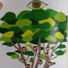 大きな木の上の大きな目