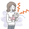 赤ちゃんのイラスト 病気けが
