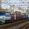 1月21日撮影 東海道線 平塚~大磯間 貨物列車撮影 5095ㇾ 2079ㇾ