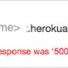 LINEBotSDKで500Errorが出ても諦めないで