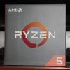 AMD RYZEN5 1600Xで自作機を組んだ