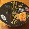 全国麺めぐり 富山ブラックラーメン 食べてみました!黒胡椒が利いた漆黒の醤油ラーメン!
