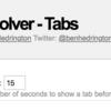 常設ディスプレイに計測系ダッシュボードを表示するときに便利なChromeプラグイン『Revolver - Tabs』