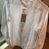 少ない服で暮らす 無印良品 スタンドカラーシャツを購入