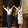 6日、福島市で共産党演説会。市田忠義副委員長が演説。