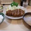 蒲田の「味のとんかつ 丸一」でロースとんかつ定食。