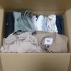 引っ越し作業1日目:冬服を段ボール箱に詰める
