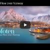 ノルウェー ロフォーテン諸島の厳しい冬