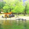 湖畔キャンプって最高!カヤックもできる西湖キャンプビレッジノーム