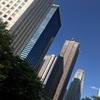 (紹介:施設)朝の西新宿高層ビル街を紹介するよ
