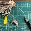 <Figure-rise LABO 南ことり>を作る!(2)パーツの切り出しと処理/トップコート