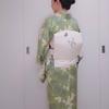 【コーディネート例】蝶々が飛んでる!新緑コーデ(4月上旬)