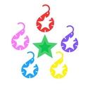 永遠に輝く五つ星