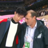 オリンピックの表彰台での笑顔と涙