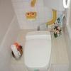 和洋兼用水洗便器を腰掛式スワレットに改造