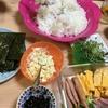 家にあるもので作れば手巻き寿司も節約料理に(*≧∀≦*)パーティ気分も味わえる♬