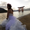 【写真修復の専門店】広島・厳島神社 逆光画像の修正