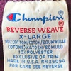 797 Champion reverse weave PURPLE SWEAT 90's rare color