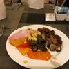 今日からホテルの朝食写真。