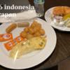 [3日目]初めての日曜日、朝食 @ インドネシアのホテル