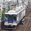 南海本線朝ラッシュ時①鉄道風景166...20191003