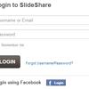 slideshareにfacebookでログインすると見たスライドがバレバレになる