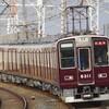 阪急8300系試運転と北びわこ号12系回送を撮る。