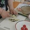 軽度認知機能障害回復プログラム「なつめ」で夏野菜のオイルパスタを作りました