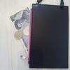 【mini7月号付録】超薄型・軽量のお財布ポシェットが子育てママにちょうどいい