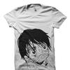 漫画『ONEPIECE』のルフィをモチーフにしたLil PeepオフィシャルTシャツ