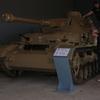 ドイツの戦車博物館で戦車の中を見ることができた