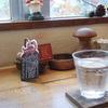 西国分寺の「クルミドコーヒー」でクルミドコーヒー、クルミドケーキ(小)。