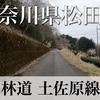 【動画】神奈川県松田町 林道 土佐原線