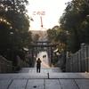 広瀬アリス主演映画「巫女っちゃけん。」舞台の宮地嶽神社に行ってきました