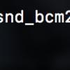 RaspberryPi 音が出ないときは sudo vim /boot/config.txt に dtparam=autio=on を記述して解決