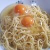 サイゼリヤオリーブオイルで卵かけスパゲッティ!一言…うまい^^