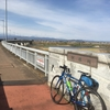 群馬県赤城颪で自転車進まない