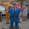 こち亀の銅像巡り吉田パンのコッペパンと亀有メンチ