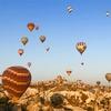 世界遺産カッパドキアで気球に乗る!