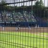 鎌スタ(ファイターズ二軍本拠地)での試合は、子供たちに野球の面白さ、野球のルールを教えるには、最高の場です!