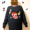 【セーター完成】人生初の手編みセーター完成!編み込み模様のセーター楽しい♪使用した糸や本、道具などご紹介♪