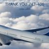 退役間近のデルタ航空B747-400搭乗【成田-デトロイト線】