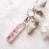 【UVレジン作り方】桜バーのネックレスの作り方