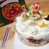 【レポ】アンパンマンクリスマスケーキ2019【子供が大喜び!】
