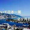 歩いて日本一周2ヶ月目