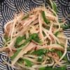 火曜:兼業主夫の野菜炒めとハンバーグ